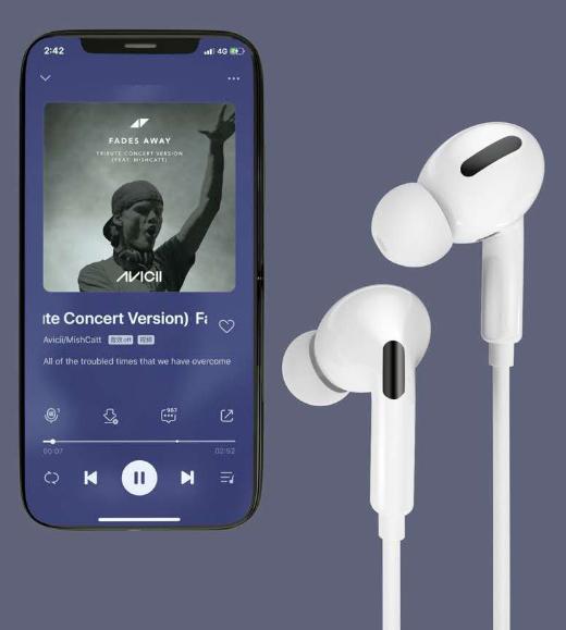 Tai nghe Airpods Pro Bluetooth có dây nhét tai - Hàng Nhập Khẩu