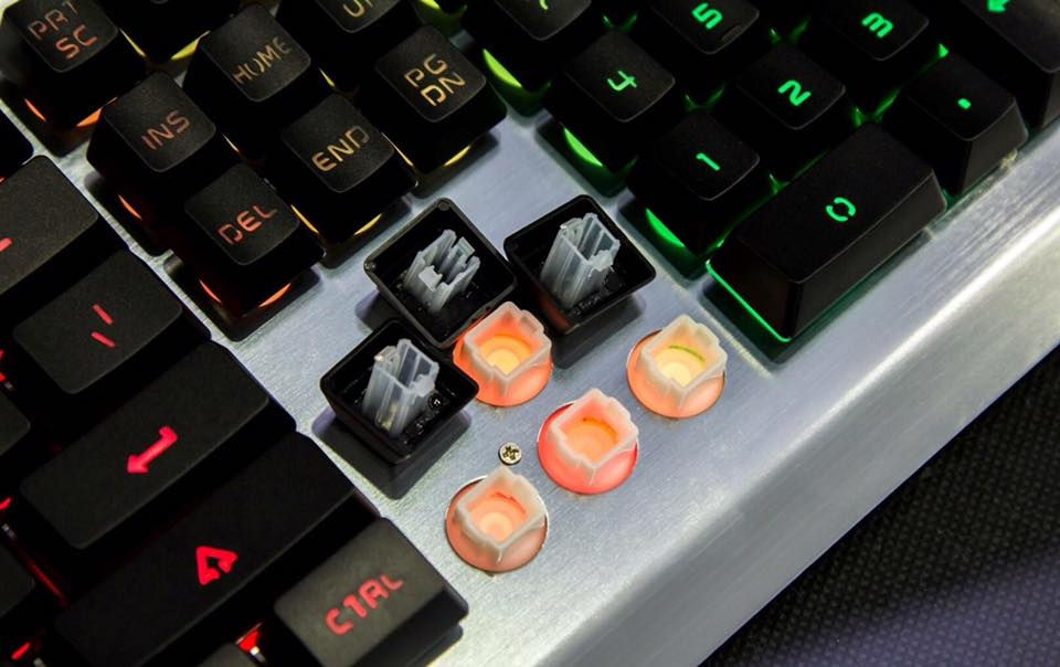 Bàn phím giả cơ có dây Newmen GM619 Black _ Hàng chính hãng
