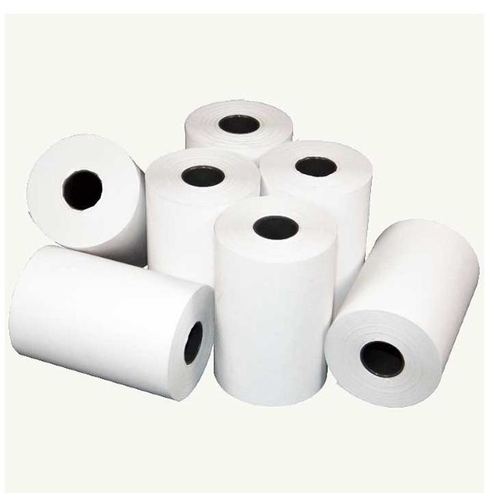 30 cuộn giấy in nhiệt dùng để in bill, in hóa đơn (thermal paper) TOPCASH K57mm phi 45mm dùng cho máy in nhiệt in hóa đơn, máy tính tiền, cân tính tiền, máy in kỹ thuật - Hàng chính hãng