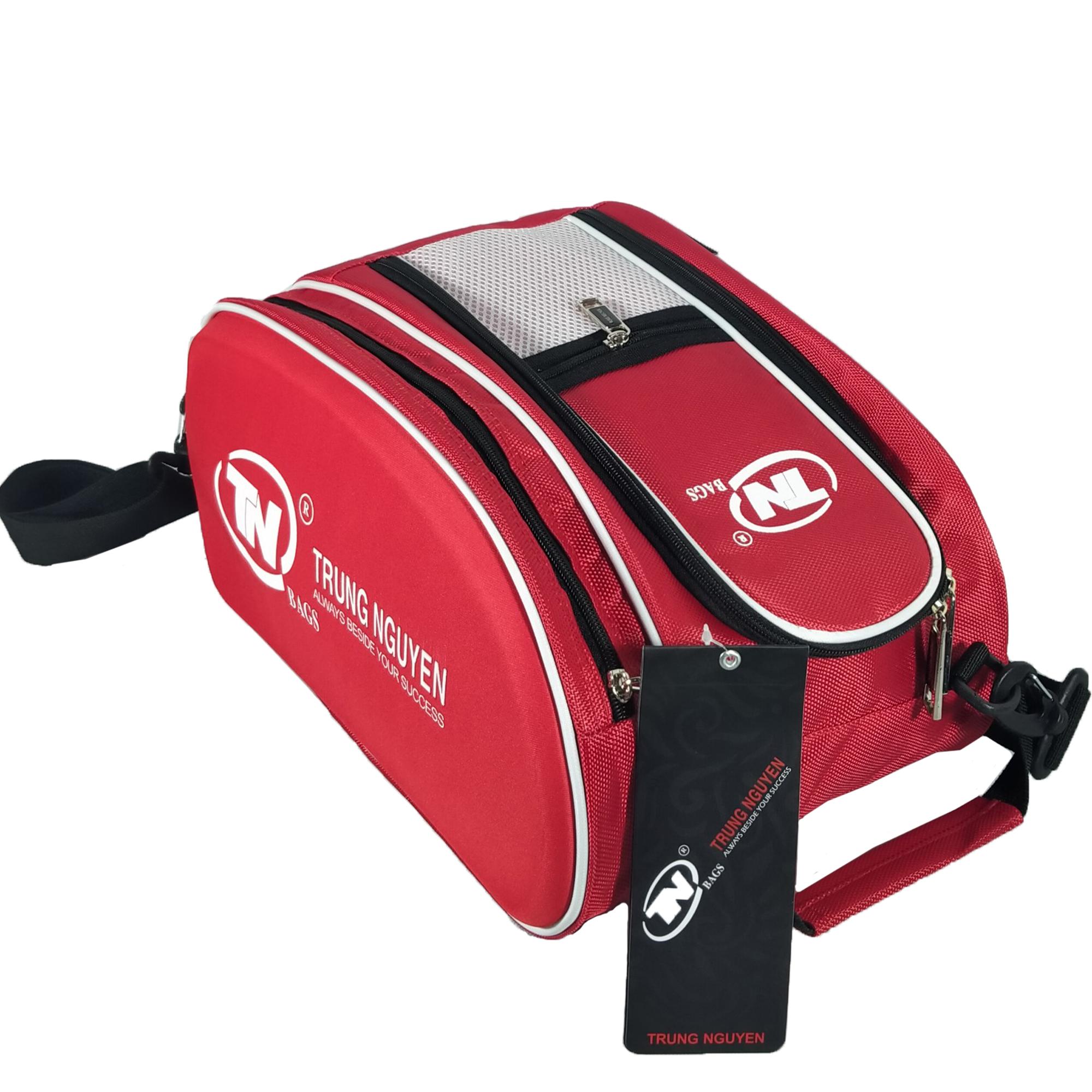 Túi đựng giày thể thao, túi đựng giày đá bóng TN Bags cho nam thiết kế 2 ngăn chống thấm nước tốt TN.B 10002