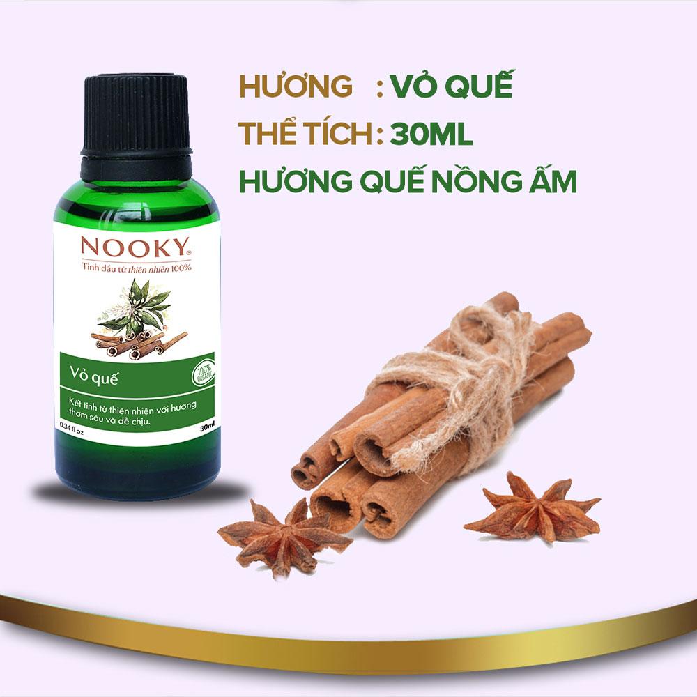[30ml] Tinh dầu Vỏ Quế NOOKY 100% Thiên Nhiên - TORO FARM