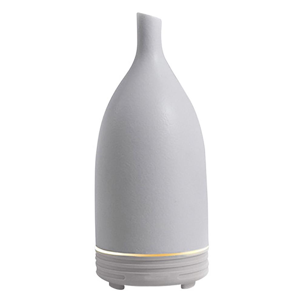 Combo máy khuếch tán tinh dầu gốm trắng Lorganic FX2015 + tinh dầu sả chanh + tinh dầu cam Lorganic (10ml x2) LGN0164/ Phun sương sóng siêu âm.