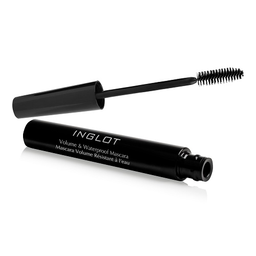 COMBO 01 Mascara  Inglot Eye Volume & Waterproof (8.5ml) + 01 Inglot Eye Amc Eyeliner Gel