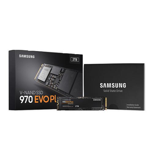Ổ Cứng SSD Samsung 970 EVO PLUS 2TB M2 2280 PCIe NVMe - Hàng Nhập Khẩu