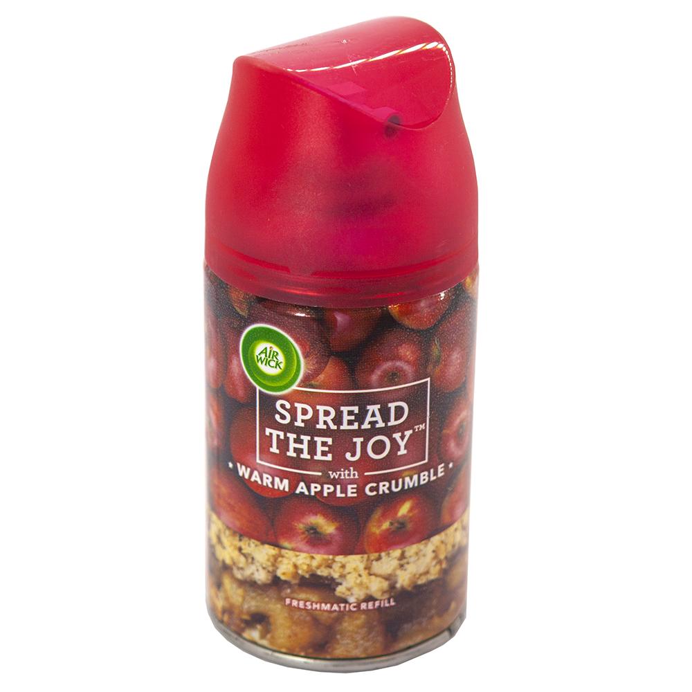 Bình xịt tinh dầu thiên nhiên Air Wick Warm Apple Crumble 250ml QT03234 - hương táo đỏ