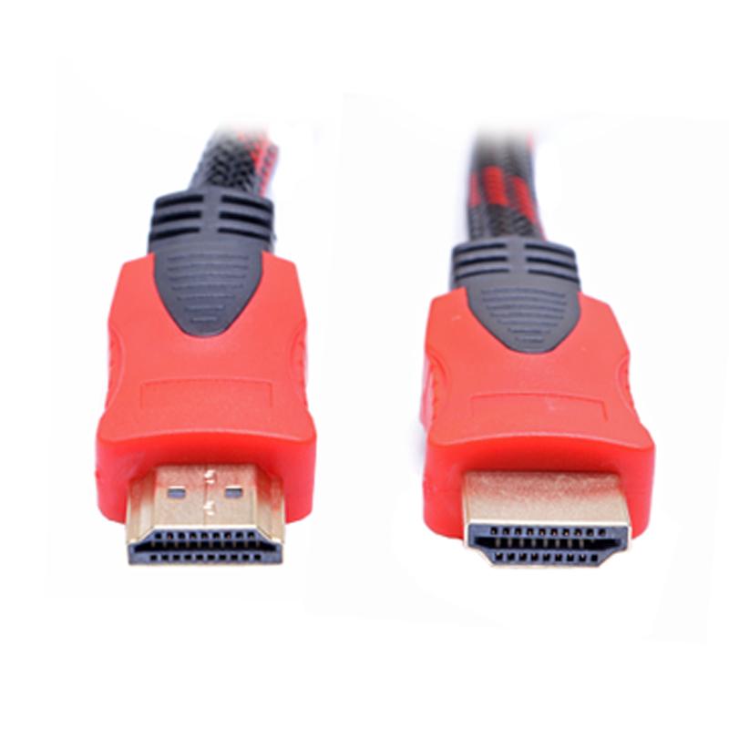 Cáp HDMI 2 Đầu Đen Phối Đỏ 20m