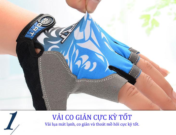 Bao tay, Găng tay Xe đạp, Xe máy, Câu cá, Du lịch, Leo núi, Ngoài trời Hở Ngón GT-005