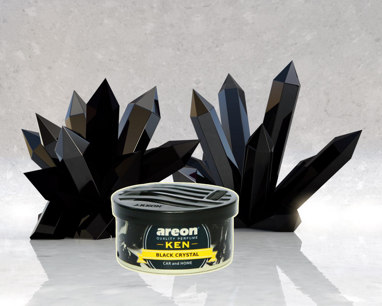 Sáp thơm ô tô Areon hương Pha Lê Đen - Nam Tính, The Mát, và Đầy Quyến Rũ – Areon Ken Black Crystal