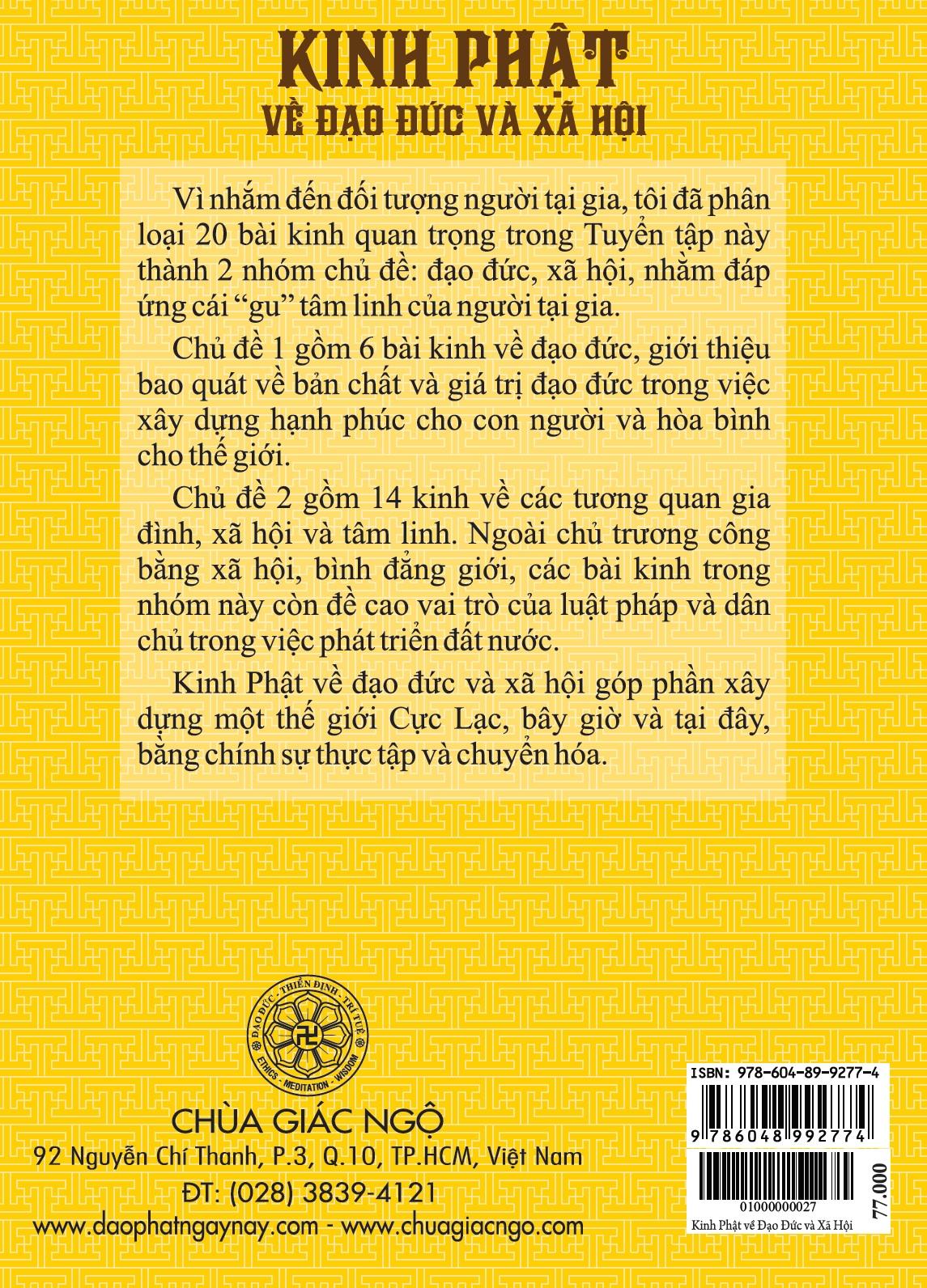 Kinh Phật về Đạo Đức và Xã Hội