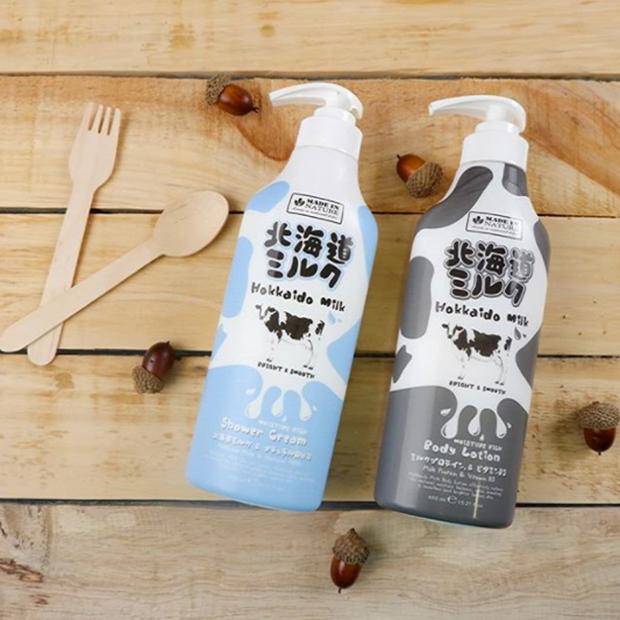 Sữa Tắm Dưỡng Ẩm Và Sáng Mịn Da Beauty Buffet Hokkaido Made In Nature 450ml