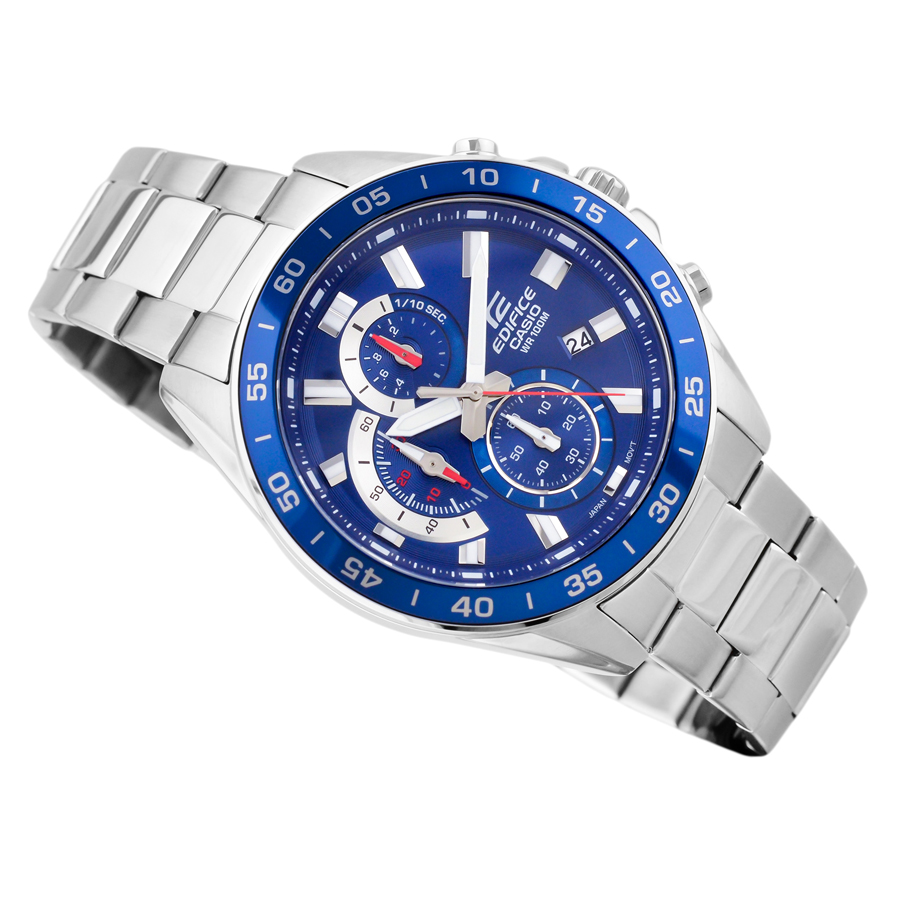 Đồng hồ nam dây kim loại Casio Edifice chính hãng EFV-550D-2AVUDF