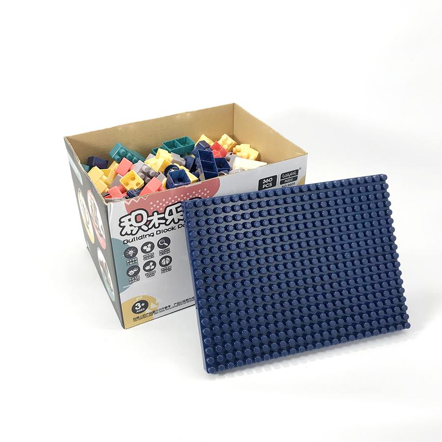 Bộ xếp hình lego hộp giấy 360 - 520 chi tiết