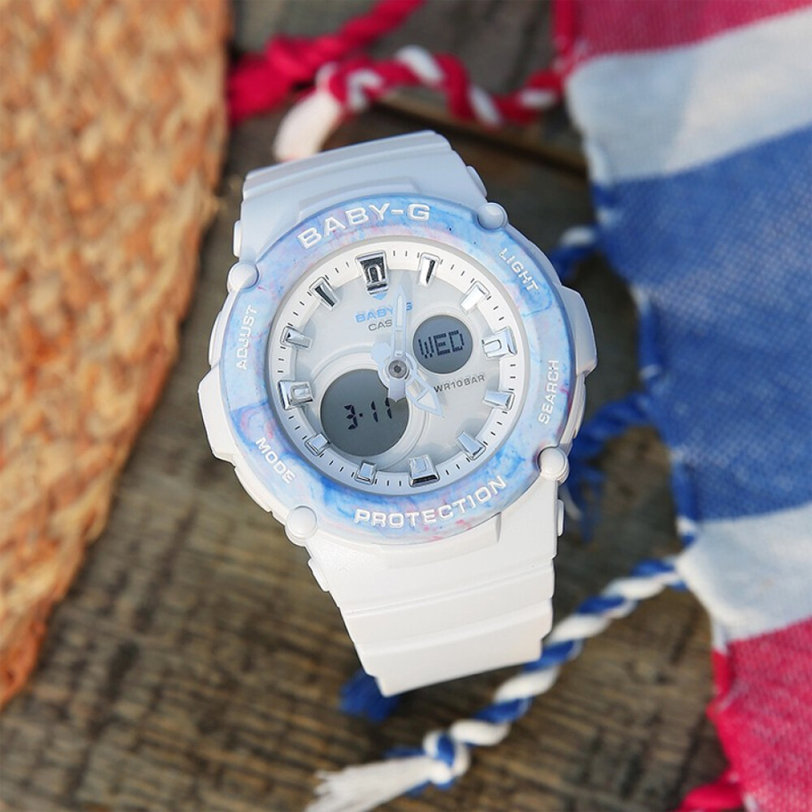 Đồng hồ nữ dây nhựa Casio Baby-G chính hãng BGA-270M-7ADR