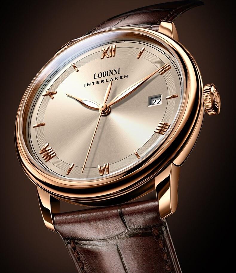 Đồng hồ nam chính hãng Lobinni No.14003