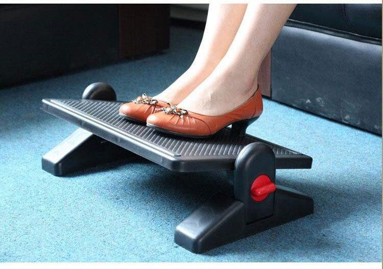 Giá kê chân văn phòng  TF-11 giúp thư giãn cổ chân, massage lòng bàn chân, chống tê, chống mỏi chân