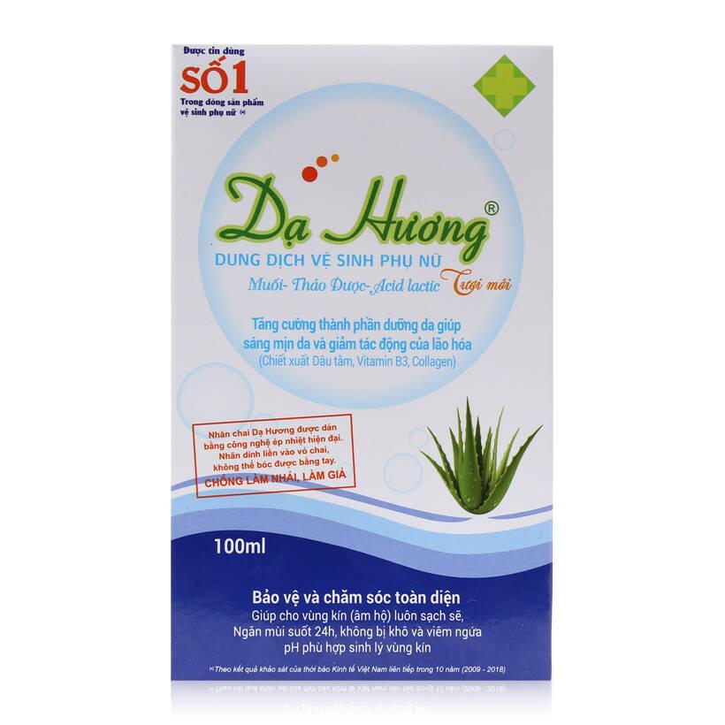 Dung dịch vệ sinh phụ nữ Dạ Hương (100ml)