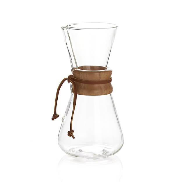 Bình pha cà phê Chemex 3 cup cổ điển – Made in USA