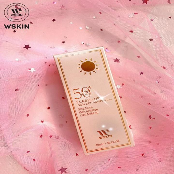 Kem Nền BB Chống Nắng WSkin Flash Up Sun SPF50+ PA++++ (40ml)
