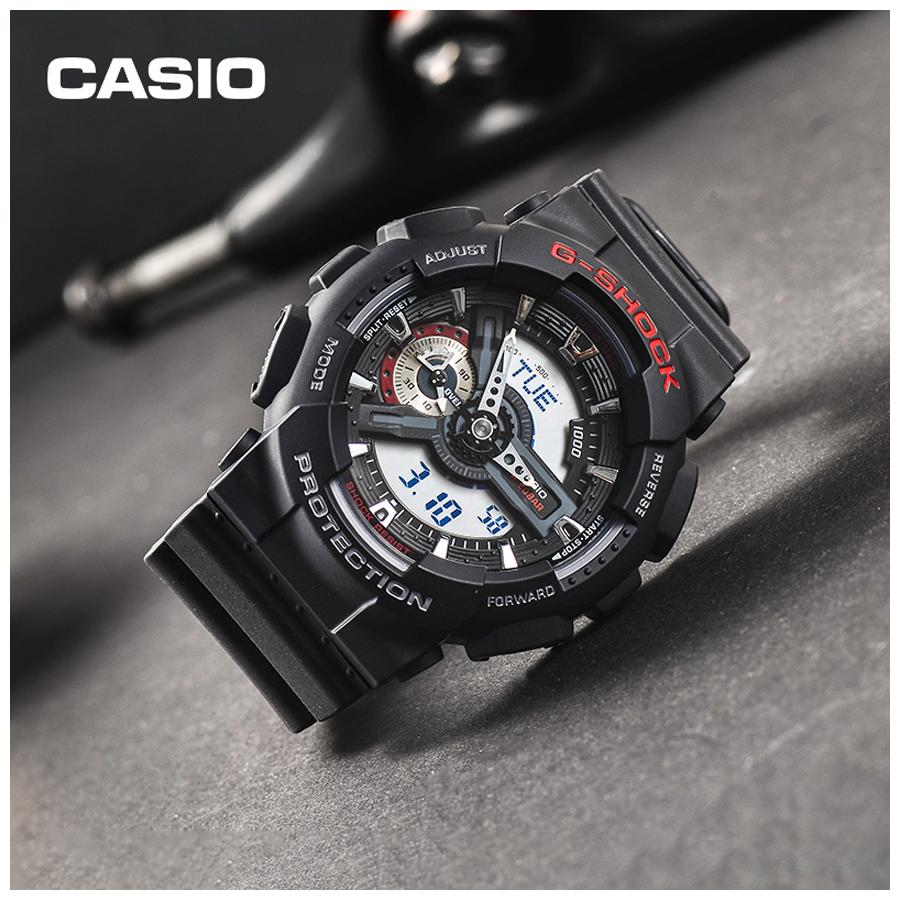 Đồng hồ nam dây nhựa Casio G-Shock chính hãng GA-110-1ADR