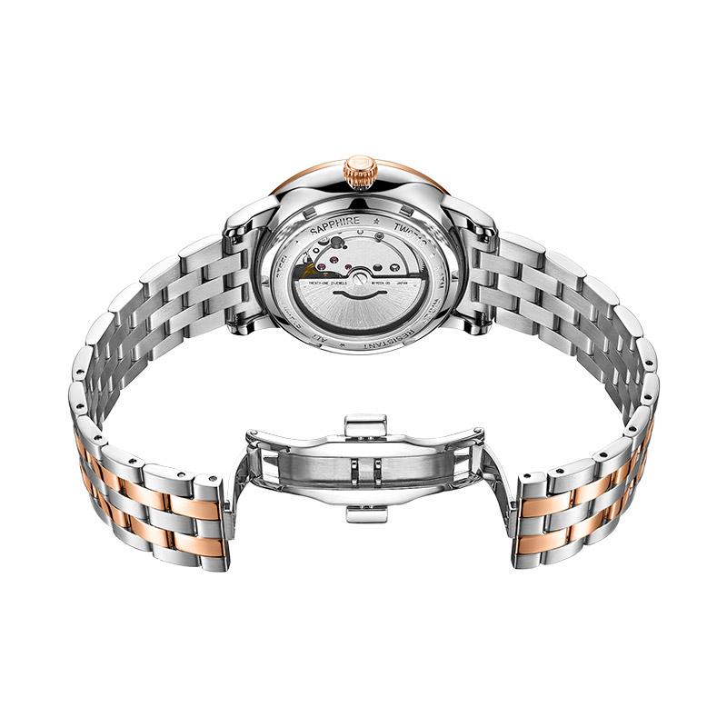 Đồng hồ nam máy cơ tự động chính hãng Thụy sĩ TOPHILL TW071G.S7188