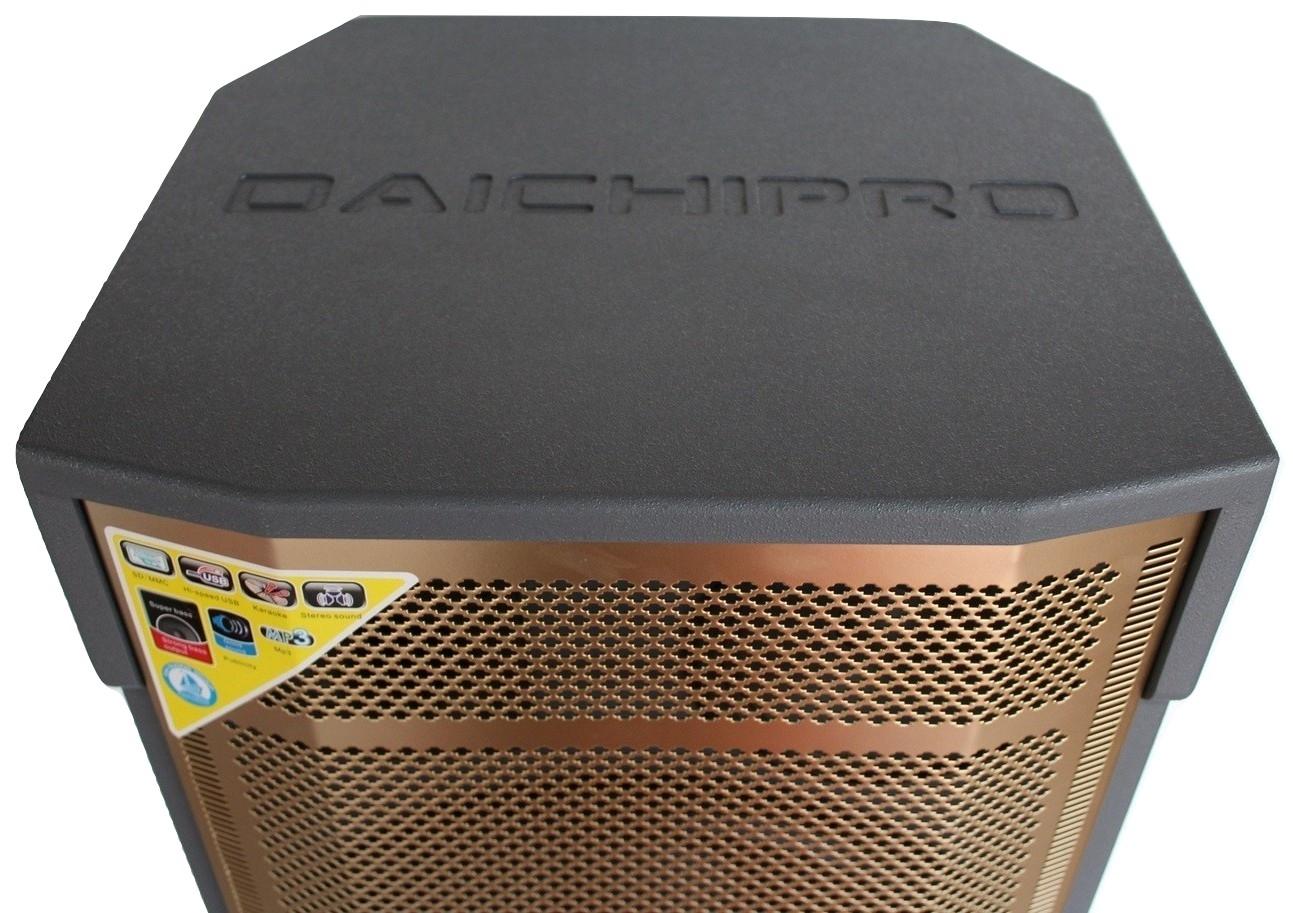 Loa Kéo Di Động Karaoke Bass Đôi 40 Daichipro DCP-30A (1500W) 4 Tấc Đôi - Chính Hãng