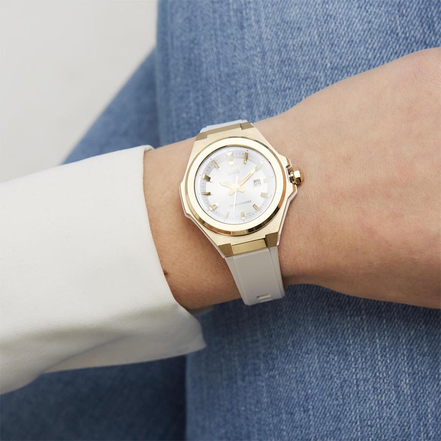 Đồng hồ nữ dây nhựa Casio Baby-G chính hãng MSG-S500G-7ADR