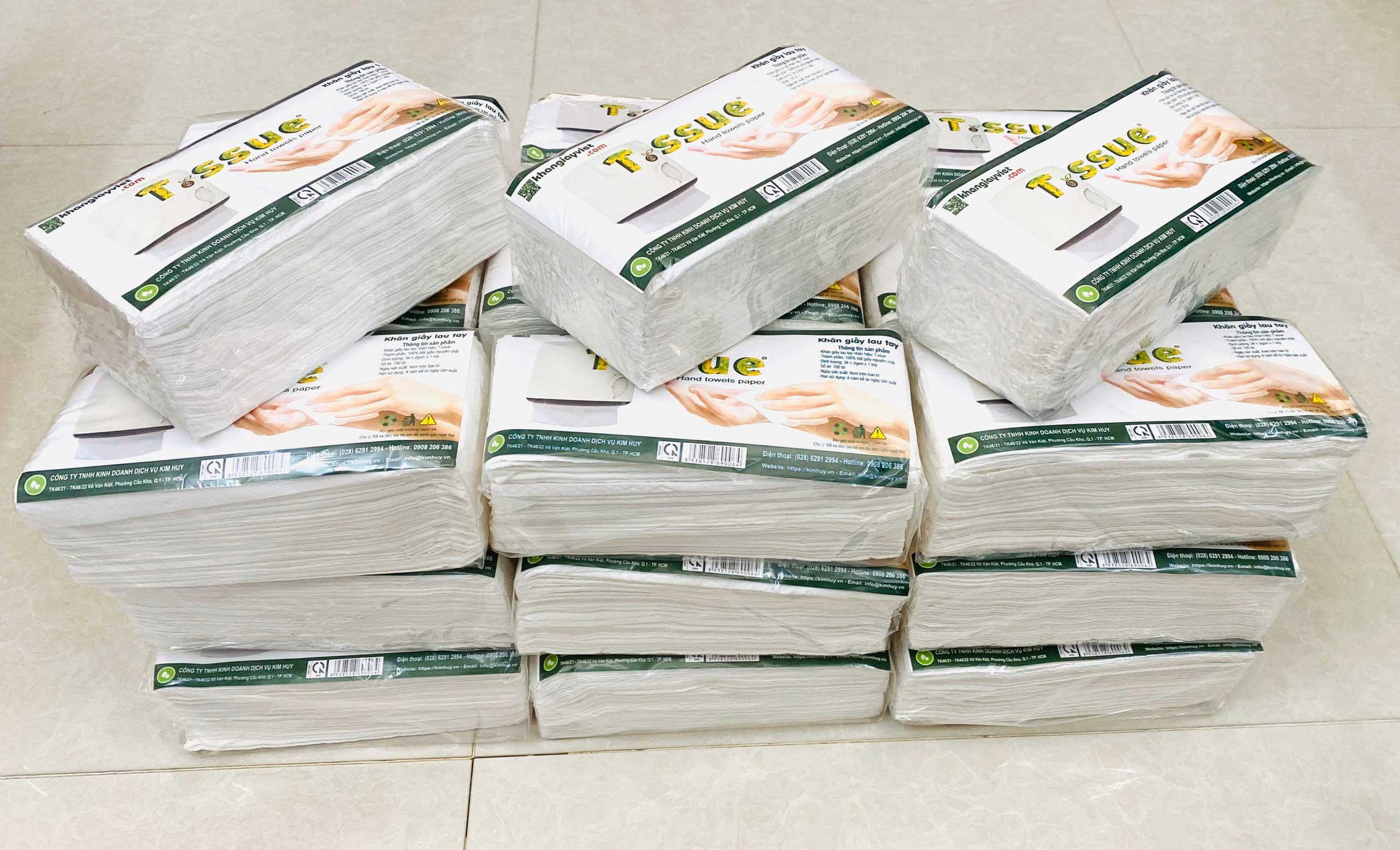 Khăn giấy lau tay T.ssue (30 gói)