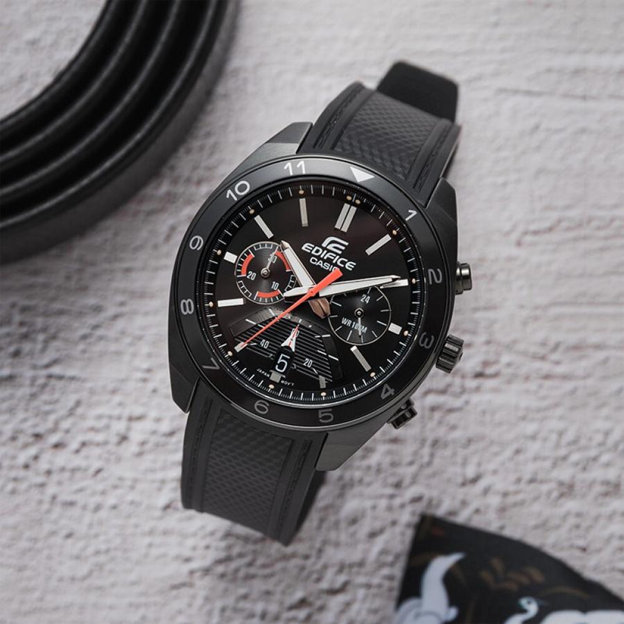 Đồng hồ nam dây nhựa Casio Edifice chính hãng EFV-590PB-1AVUDF