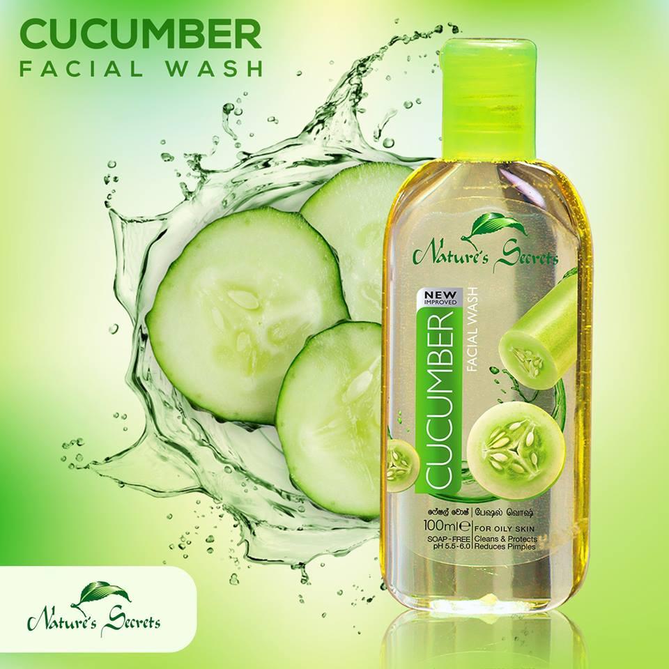 Sữa rửa mặt sạch nhờn giảm mụn Cucumber Facial Wash 100ml
