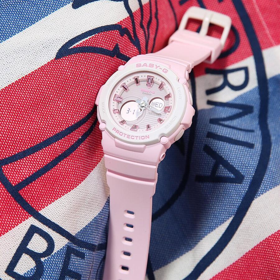 Đồng hồ nữ dây nhựa Casio Baby-G chính hãng BGA-270-4ADR