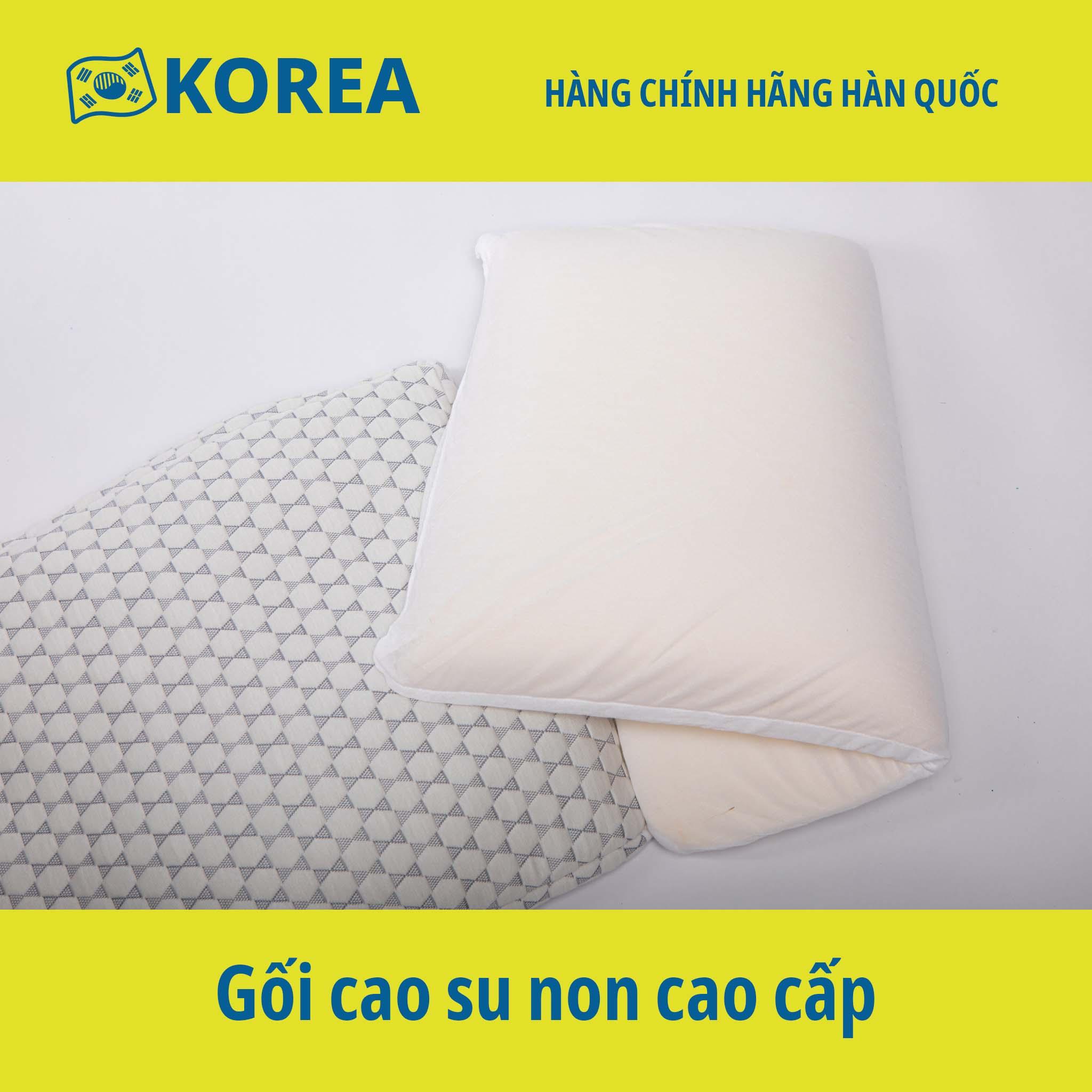Gối cao su non size lớn có thể điều chỉnh chiều cao - Hàng chính hãng Mehome Hàn Quốc – PLUS SIZE PILLOW (MP-030)