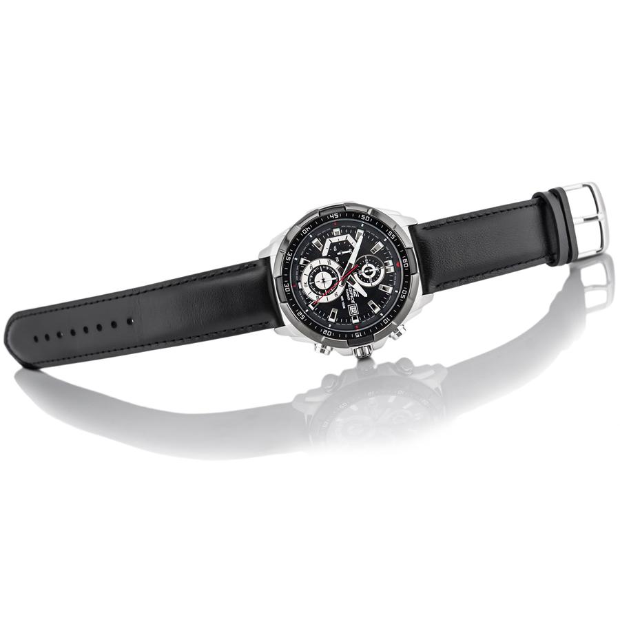 Đồng hồ nam dây da Casio Edifice chính hãng EFR-539L-1AVUDF