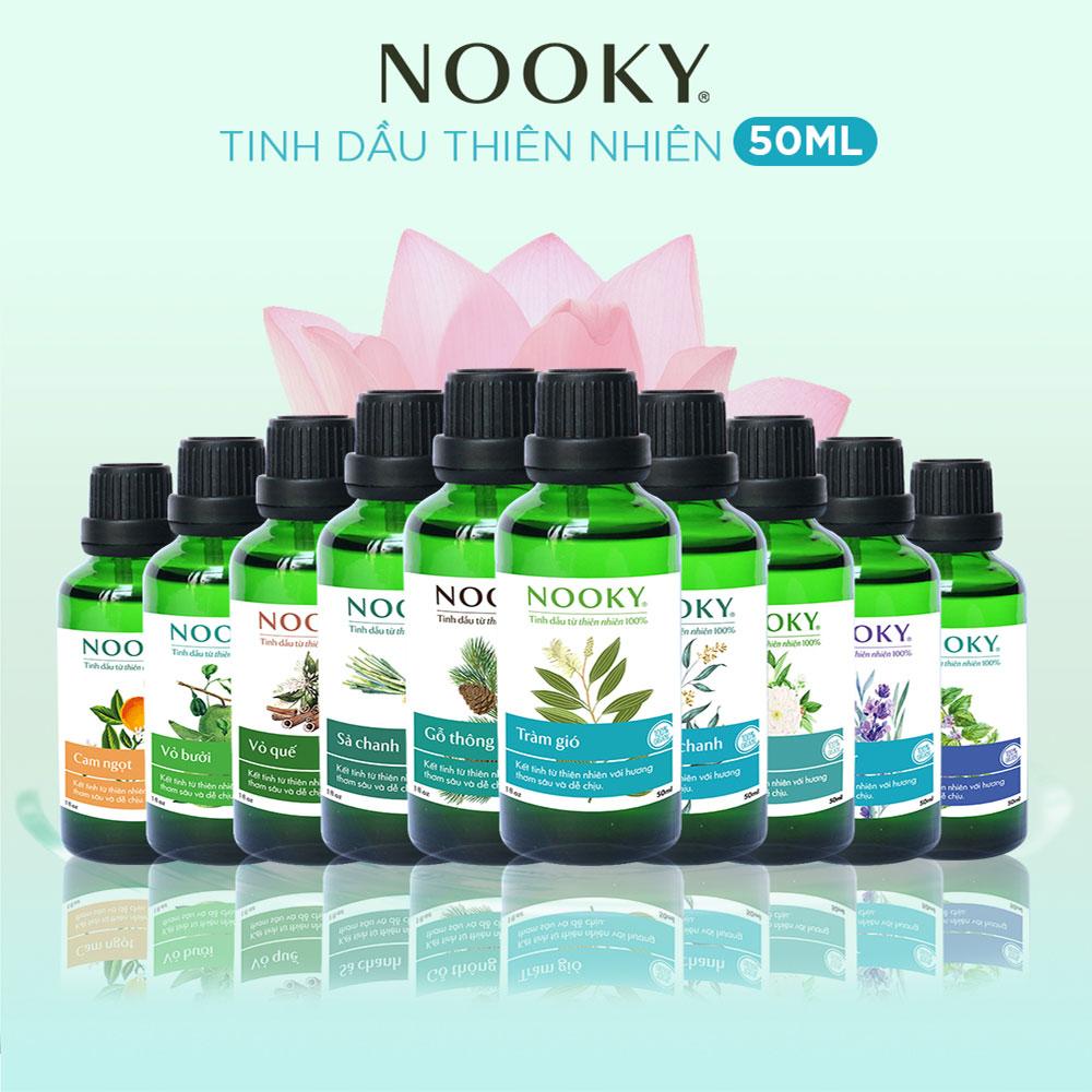 [50ml] Tinh dầu Bạc hà NOOKY 100% Thiên Nhiên - TORO FARM