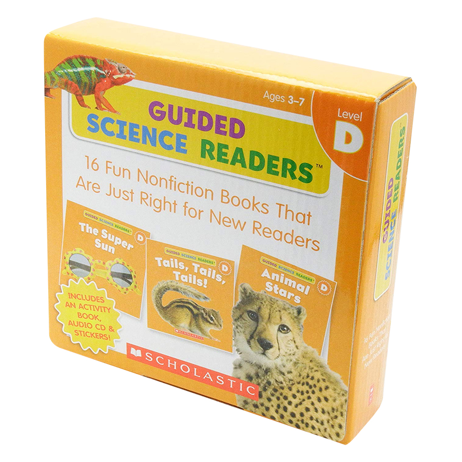 Guided Science Readers Level D (With CD)