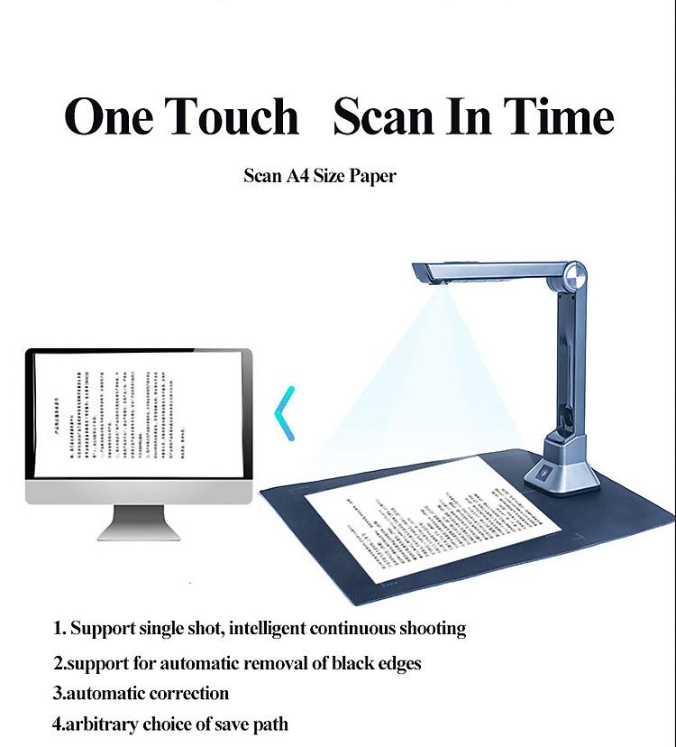 Máy Scan siêu sắc nét chất lượng HD có 6 đèn LED