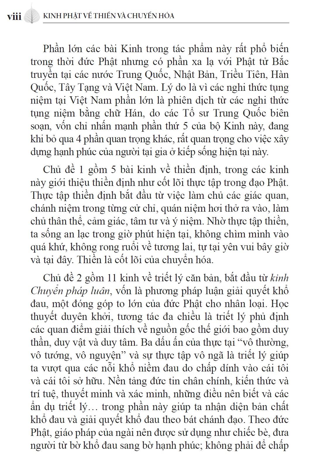 Kinh Phật về Thiền và Chuyển Hóa