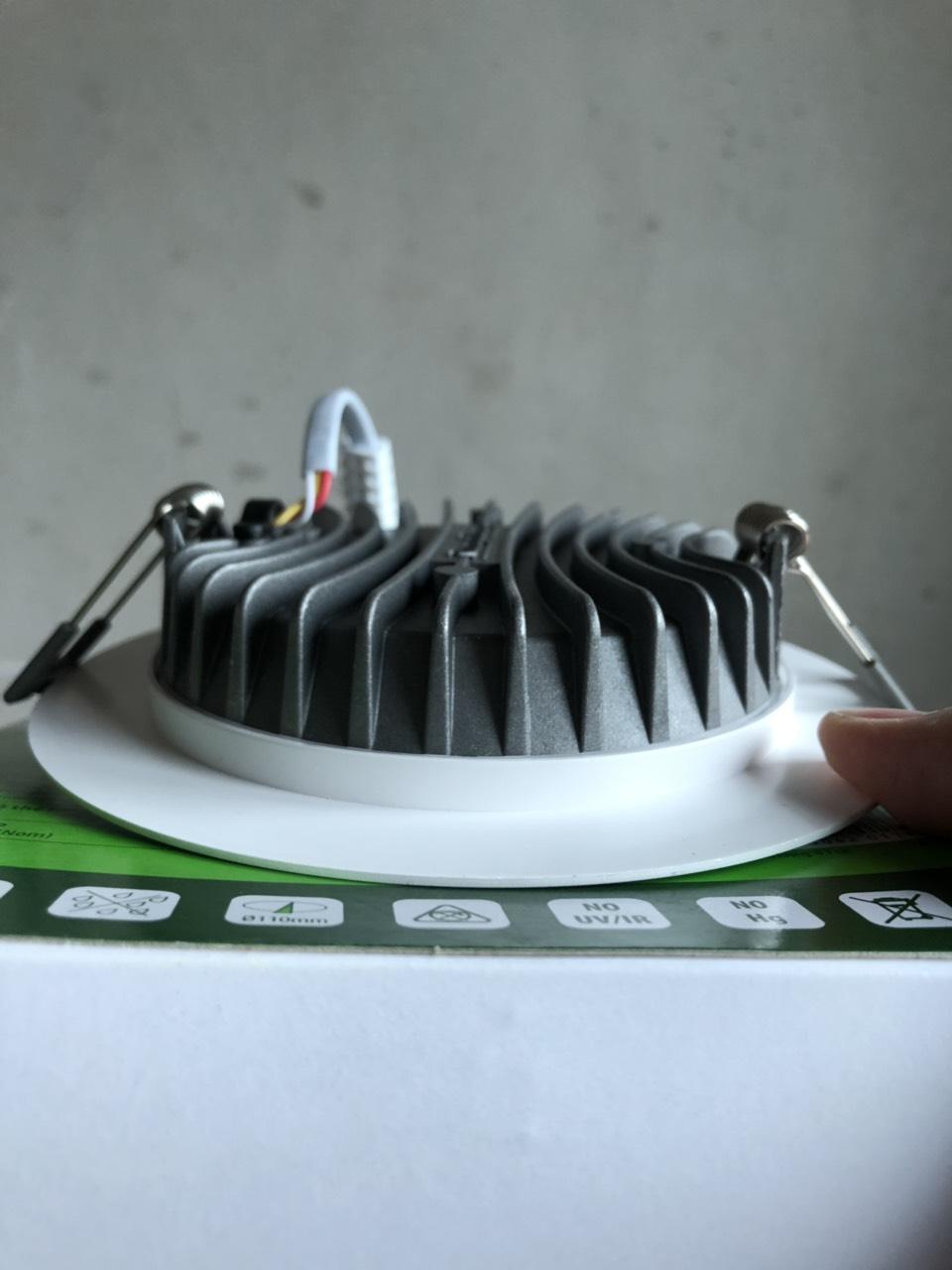 Combo 6 Đèn LED âm trần 12W Rạng Đông , Model Led downlight D AT04L 110/12W