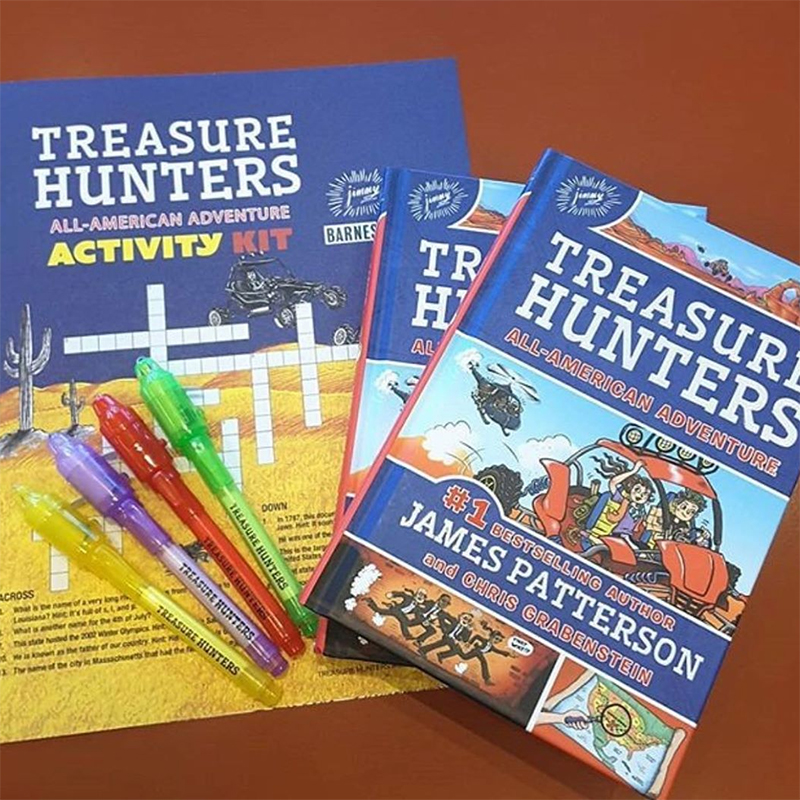 Treasure Hunters Series #6: All American Adventure (James Patterson and Chris Grabenstein, Illustrated by Juliana Neufeld)