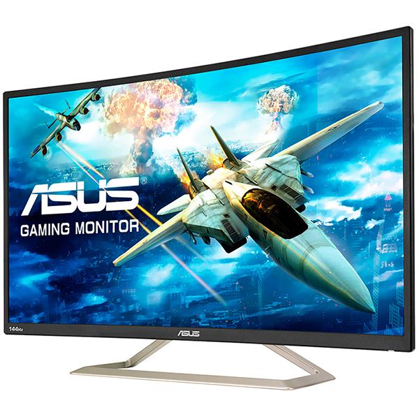 Màn Hình Cong Gaming Asus VA326H 32inch Full HD 4ms 144Hz VA - Hàng Chính Hãng