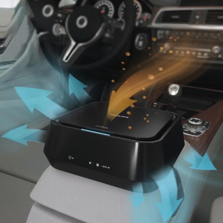 Máy khử mùi, lọc không khí trên xe ô tô Philips GP5201- Hàng nhập khẩu