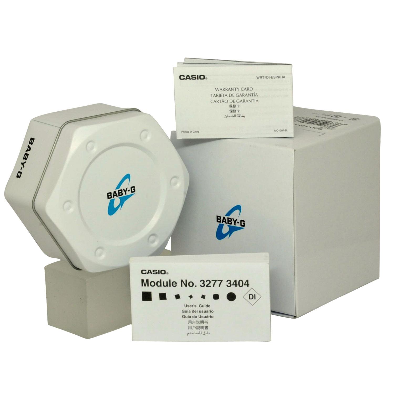 Đồng hồ nữ dây nhựa Casio Baby-G chính hãng BA-110PI-2ADR