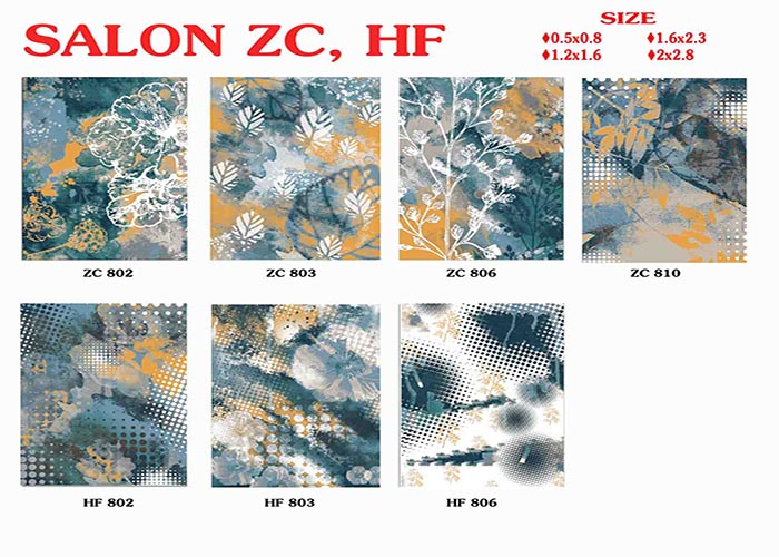Thảm trang trí lông ngắn MQ HF802