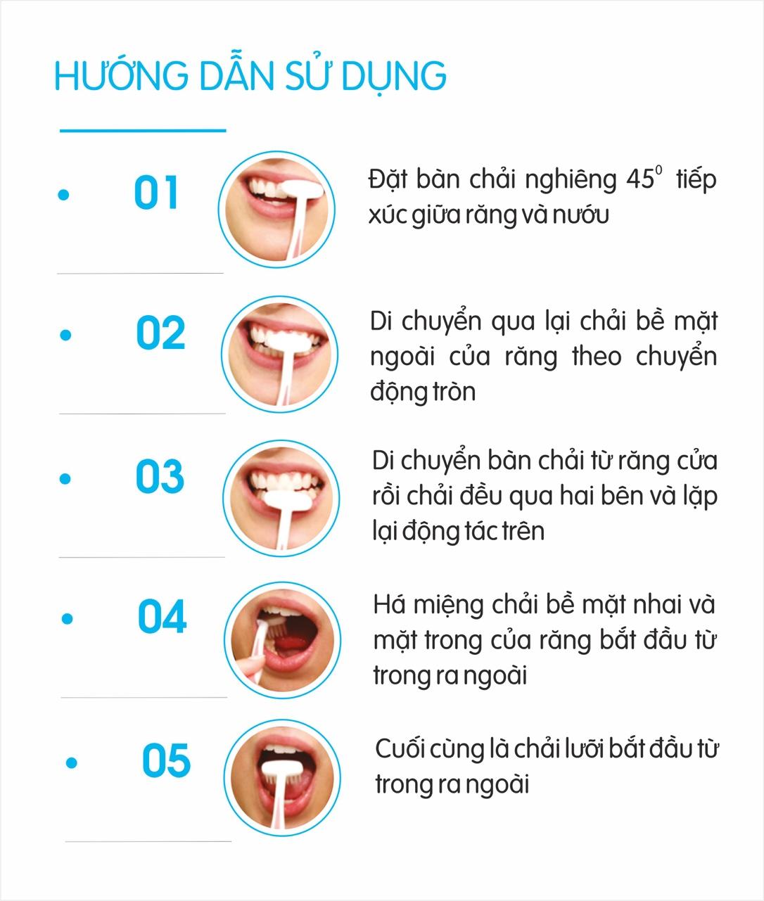 Combo 6 bàn chải đánh răng more-T lông siêu mềm