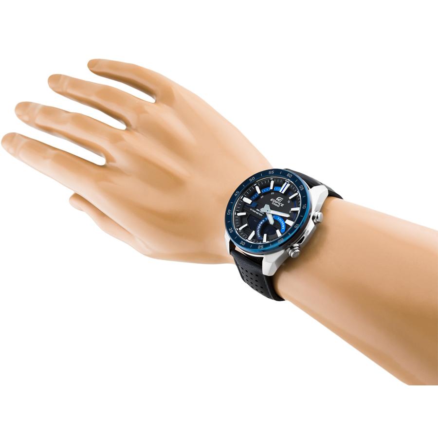 Đồng hồ nam dây da Casio Edifice chính hãng ERA-120BL-2AVDF