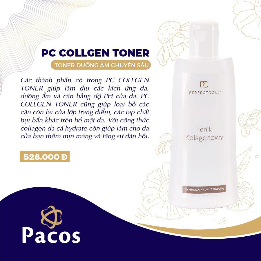 Toner Dưỡng Ẩm Chuyên Sâu - PC Collagen Toner