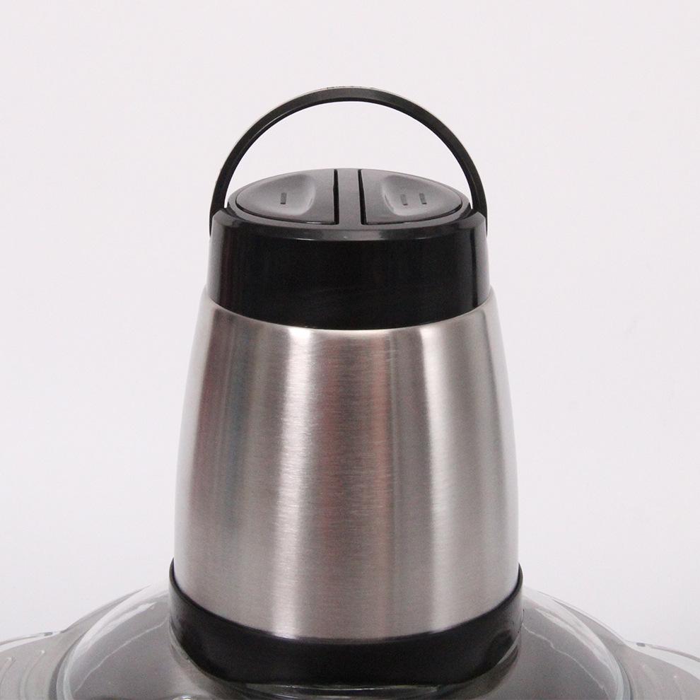 Máy xay thịt tốc độ cao dung lượng 2L, chất liệu thép không gỉ tiện dụng trong gia đình