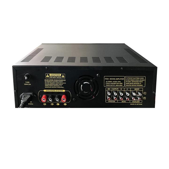 Amply Bluetooth 8 sò đại Toshiba - Ampli karaoke nghe nhạc gia đình Cali.D&Y PA-1200USB - Hàng chính hãng