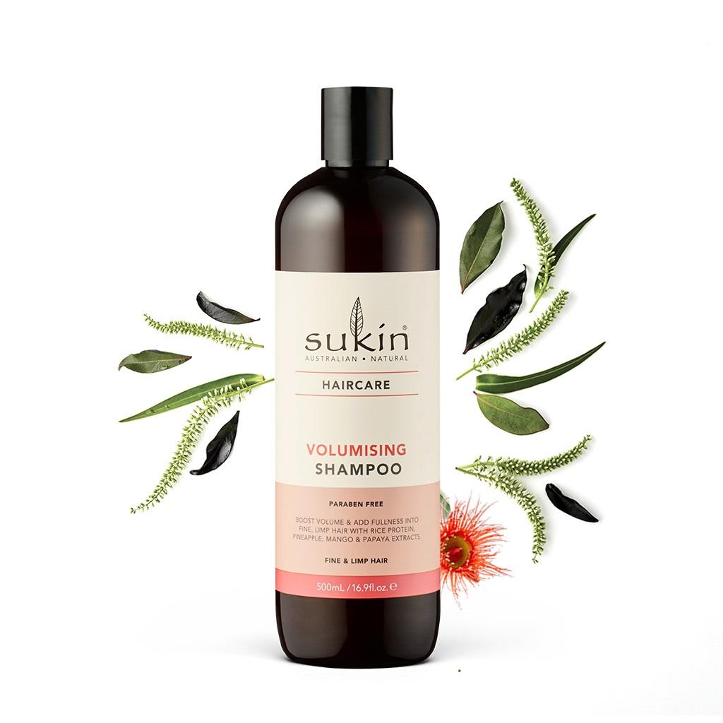 Dầu gội làm dày tóc Sukin Volumising Shampoo 500ml