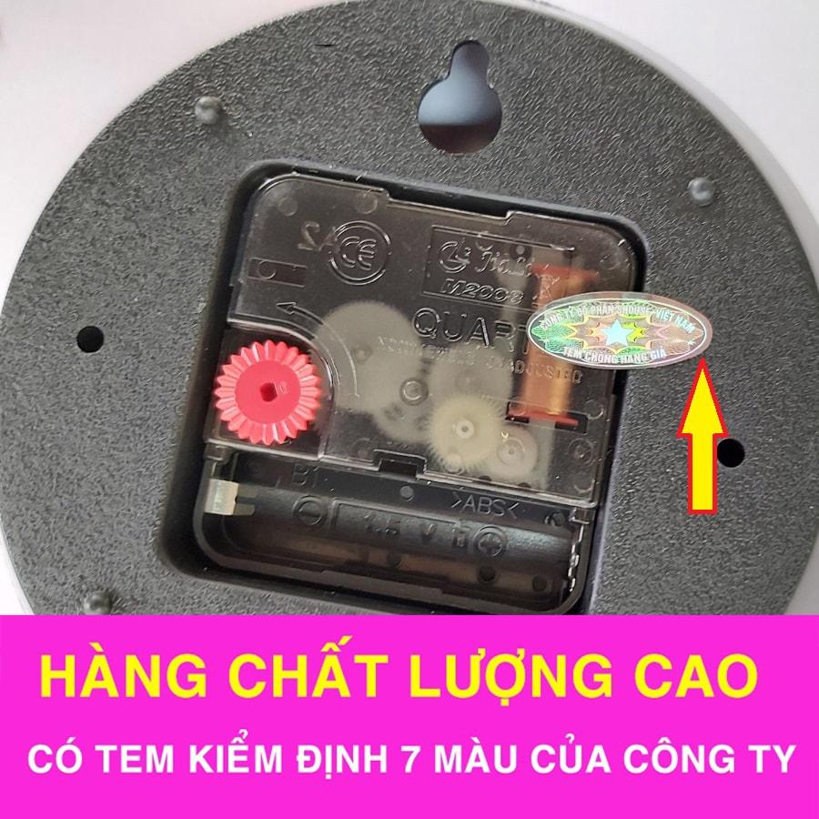 Đồng Hồ Treo Tường Đẹp A51 (Kèm máy đồng hồ thay thế)