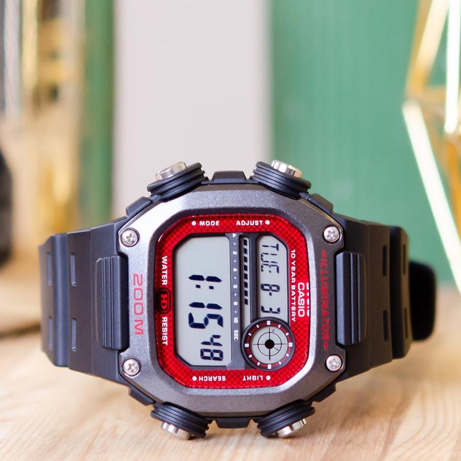 Đồng hồ nam dây nhựa Casio Standard chính hãng DW-291H-1BVDF